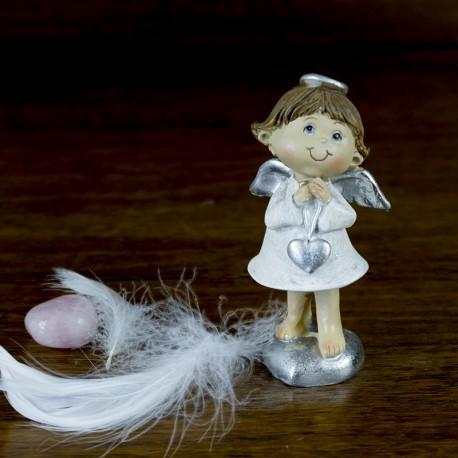 Figurine déco de Noël Ange naïf