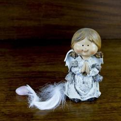 Décoration figurine Ange prieur Lila
