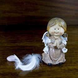 Décoration figurine Ange prieur Liloo