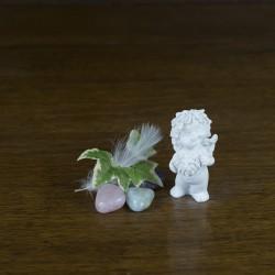 figurine ange gardien zodiaque lion