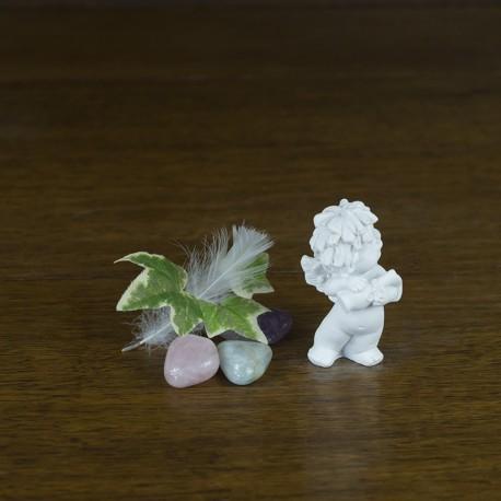figurine ange gardien zodiaque signe du verseau