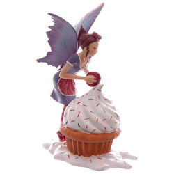 collection Figurine de Fée avec un cupcake