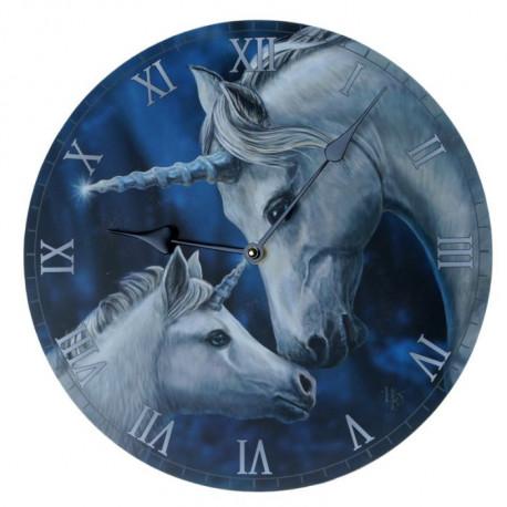 Horloge murale Licorne de Lisa Parker