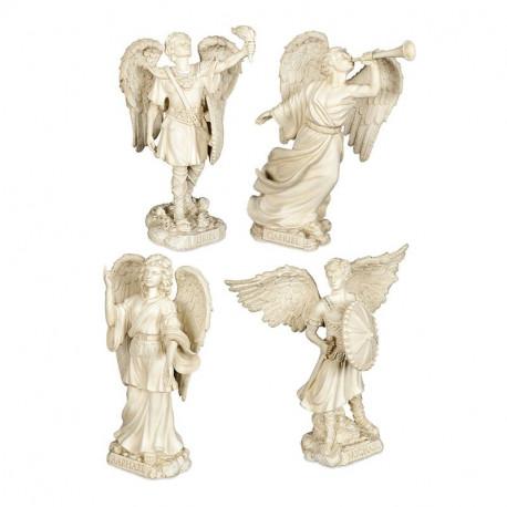 Collection des 4 grandes figurines d'Archanges