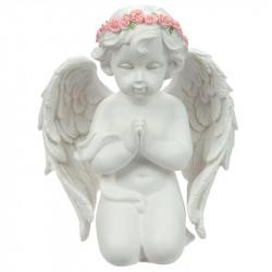 Figurine décoration Ange prieur à genoux