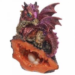 Figurine statue fantastique de Bébé Dragon