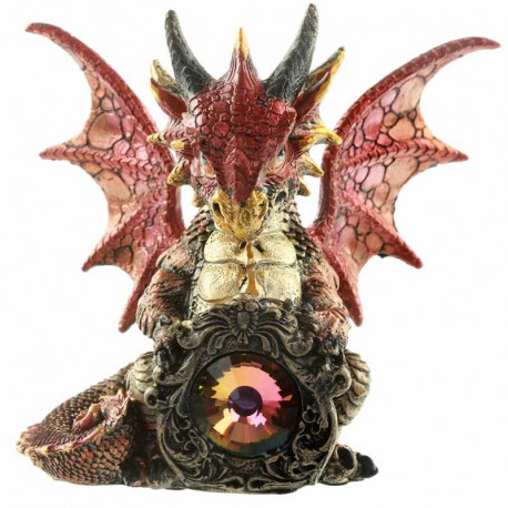 Figurine statuette fantastique de Dragon