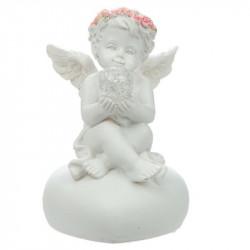 décoration figurine romantique Ange lumineux