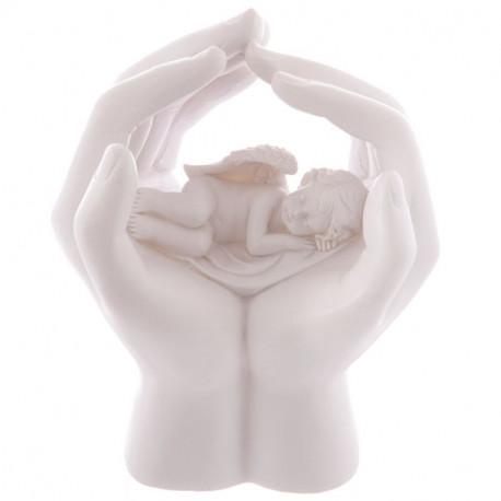 Figurine Ange dormant lampe à leds