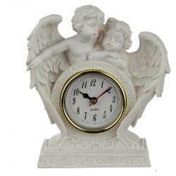 Horloge pendule à poser thème anges dans leurs ailes