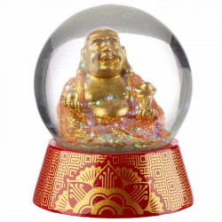Boule de neige Bouddha