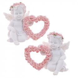 Statuette Ange et coeur
