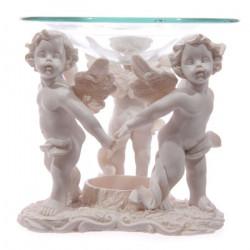 Décoration Brûle-parfums avec trois Anges