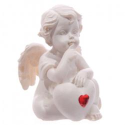 décoration de mariage Figurine Ange et coeur