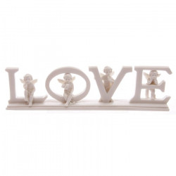 déco mariage thème figurine LOVE by Angels