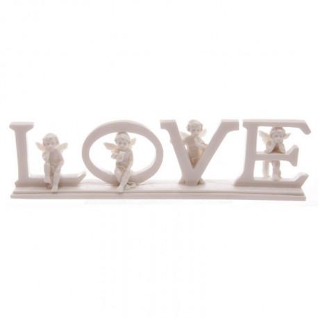 déco mariage thème figurine LOVE by Angels