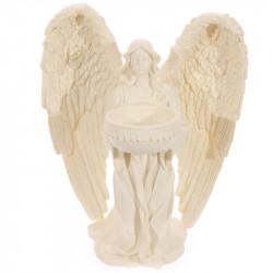 Bougeoir statuette Ange prieur féminin