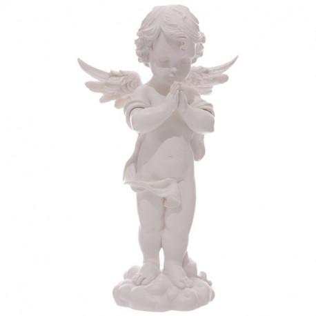 Grande Figurine déco Ange prieur debout