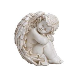 Grand figurine d'Ange assis