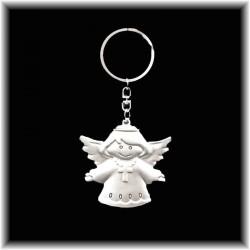 Porte-clefs Ange avec une croix