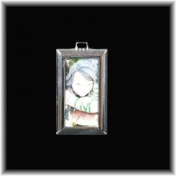 Porte-clefs rectangulaire fée idée cadeau thème féerie