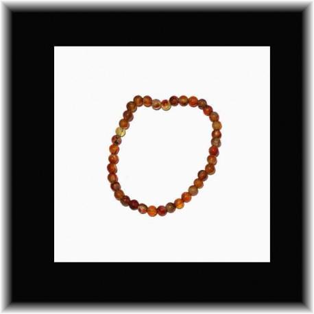 Bracelet fin en cornaline pouvoir des pierres