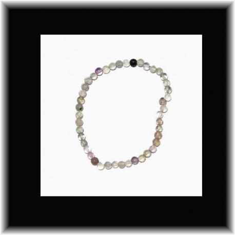 Bracelet fin en fluorite pouvoir des pierres