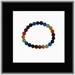 Bracelet 7 chakras (6 mm) pouvoir des pierres