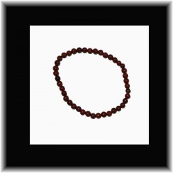 Bracelet fin en jaspe rouge