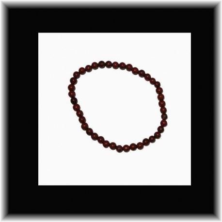 Bracelet fin en jaspe rouge pouvoir des pierres