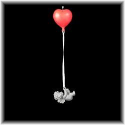 deco d'ange à suspendre avec un coeur