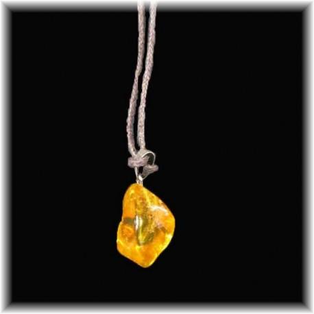 Bijou pendentif d'ambre
