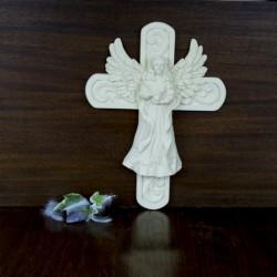 Figurine Ange sur une croix
